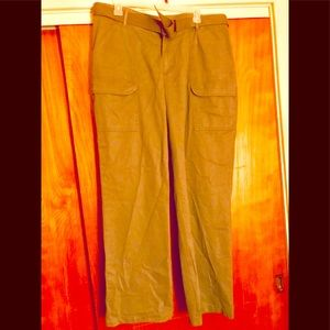 Faded Glory Olive Green Cargo Pants
